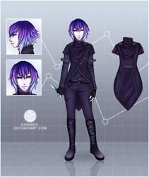 Character Reference: Atsaeka by Kavaeka