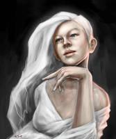 Portrait Sketch by adlovett