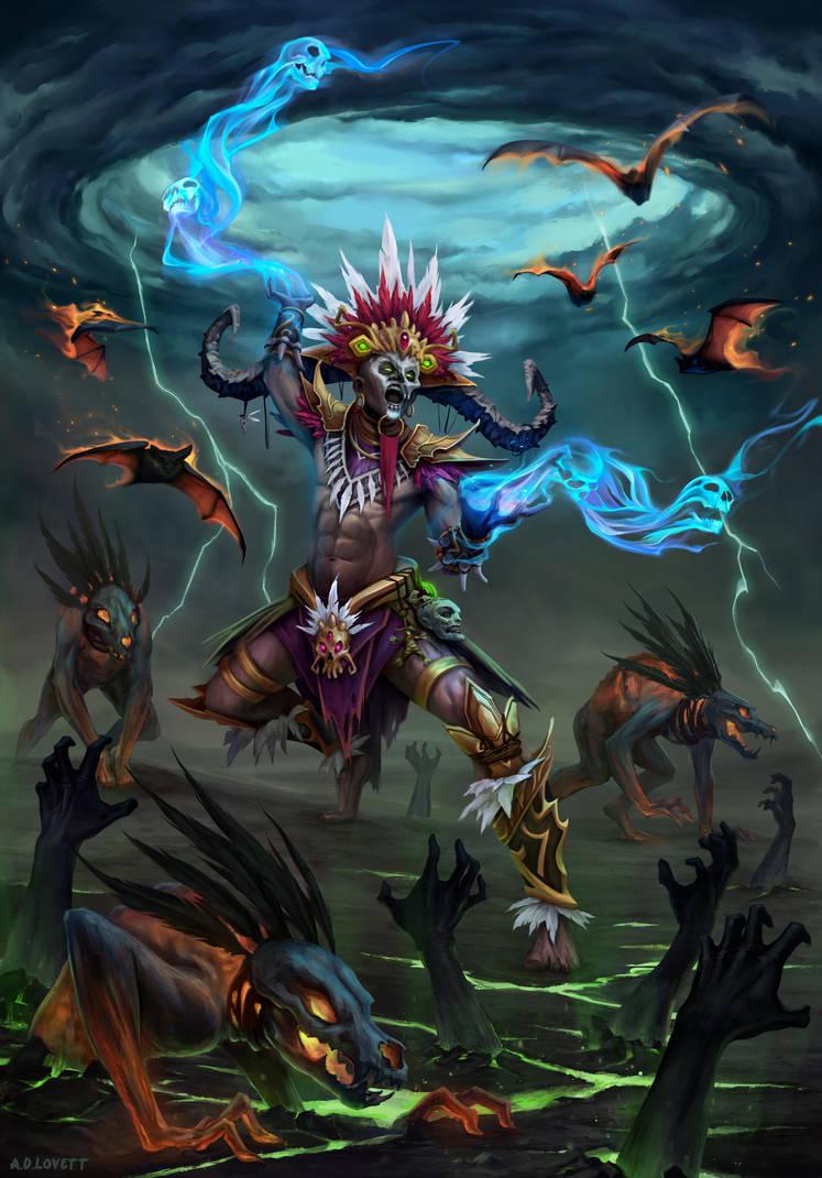 Witch Doctor by adlovett