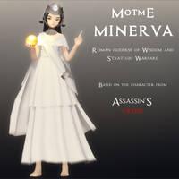 MotME - Minerva by Dark-Dragon-Spirit