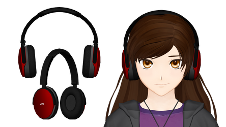 [MMD] JVC HA-S660 Headphones by Smachiefish