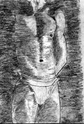 Drawing Male Torso #4 by ChangingMale