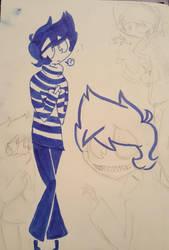 Sketchbook Page 5 by AReallyBoredArtist