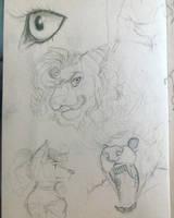 Sketchbook page 141 by AReallyBoredArtist