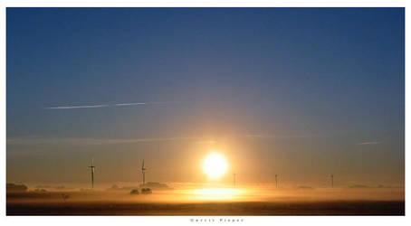 morning sky by germania