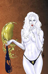 Lady Death NYCC Saturday by MDiPascale