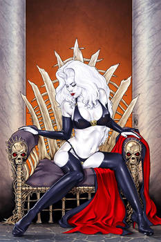 Lady Death 12 Auxiliary Cover by MDiPascale