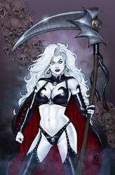 Lady Death by MDiPascale