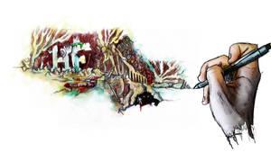A Pen's Journey by FBrueggen