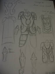 Costume Journal 10: Evolution - Concept 2 by RTFtoon