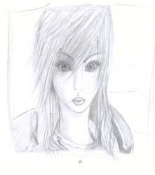 FFXIII-2 Lightning Portrait by xxAiko-chanxx