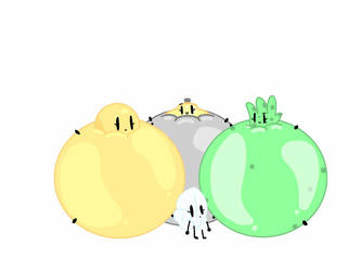 Request: 3 Balloons and cloudleafy by CarterTheEmolga