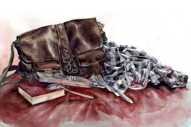 watercolor still life 2 by thuyngan