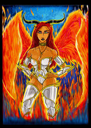 Ember Erotomania, The Fire Angel by The-Infamous-MrGates