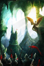 Dragon Cave by Betelgeuze01