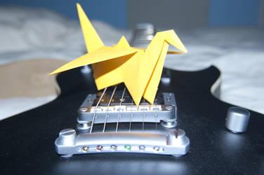 Guitar and Crane by fmauNeko