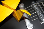 Guitar and Crane 2 by fmauNeko
