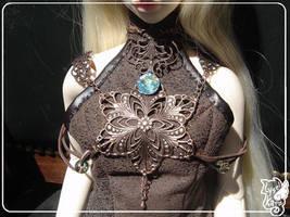 BJD jewellry : Breastplate 001 by lysel