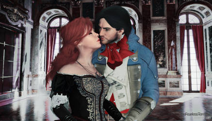 Assassin's Creed Unity - Arno x Elise by YumieDolly