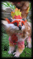SOLD Acer the thick-tailed maple lemur by CreaturesofNat