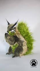Kukunochi the god of trees squirrel artdoll! by CreaturesofNat