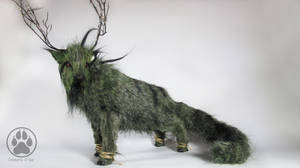 Morass the Swamp Caribou artdoll OOAK! by CreaturesofNat