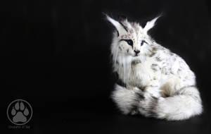 SOLD Linux the Alpine Cat poseable artdoll OOAK! by CreaturesofNat