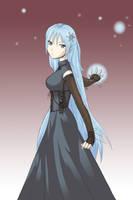 AoH-Enko's Winter Ball Dress by suishouyuki