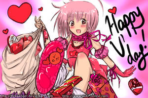 Pinku-chama -Valentine's Day- by suishouyuki
