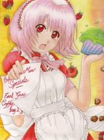Cafe Mew Mew: Side Ichigo by suishouyuki