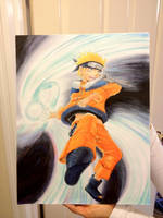Naruto (b-day gift for brother 2013) by suishouyuki