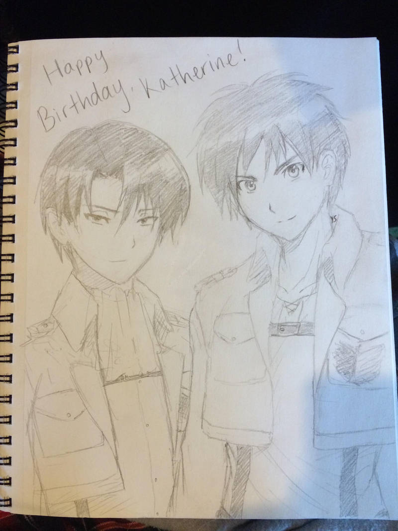 Happy Birthday, Katherine! by suishouyuki