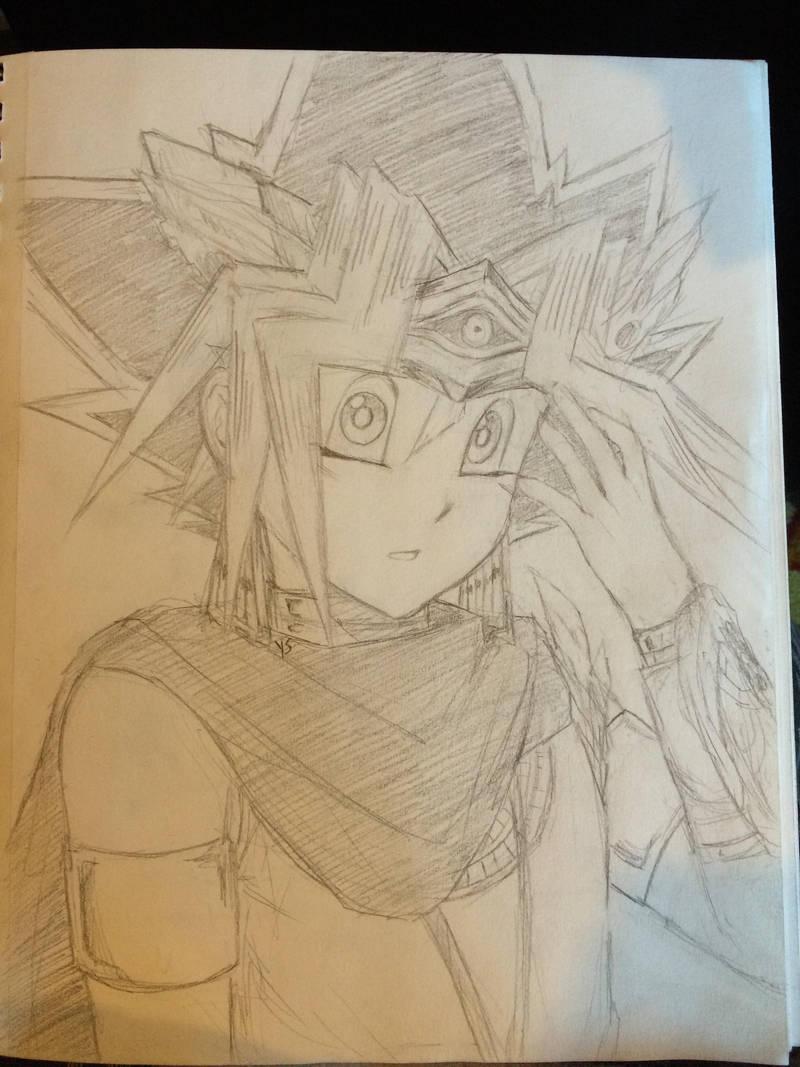 Pharaoh Yugi owo by suishouyuki