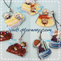 Yummy Duelist Charms! (Almost gone) by suishouyuki