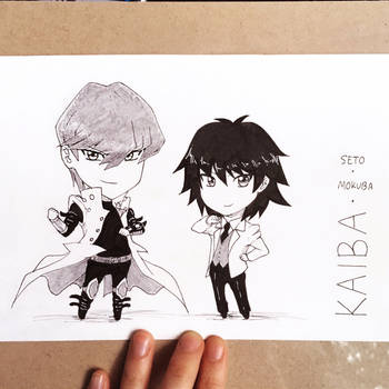[JAMPcon CM] The Kaiba Bros by suishouyuki
