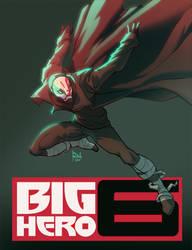 Big Hero 6 Bad Guy by AlexRedfish