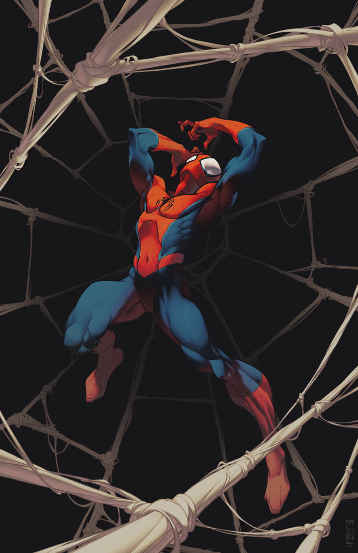 'Spider-Man Must Suffer' by AlexRedfish
