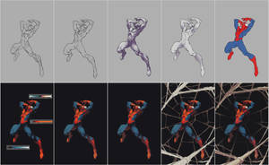 'Spider-Man Must Suffer' Steps by AlexRedfish