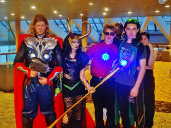 A few cosplays from the Avengers by GamerZone18