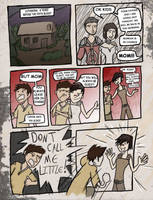 Kid Hawke Comic page 1 by B-Rhombus