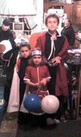 Halloween at grandma's by KenshinKyo