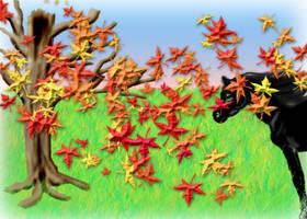 A fall Scene PS CP 7 by KenshinKyo