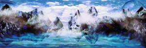 mountain scape1 by KenshinKyo