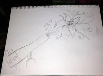 Glassblowing logo: super rough sketch by ArtisanAlley