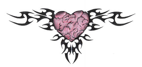 the tribal heart of stone by mybeautifulsickness