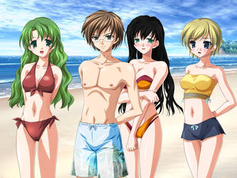 Beachtime Vacation by Komi-Tsuku