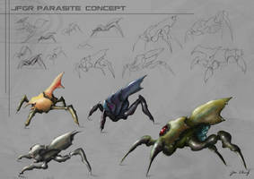 jfgr parasite concepts by greensandsguy
