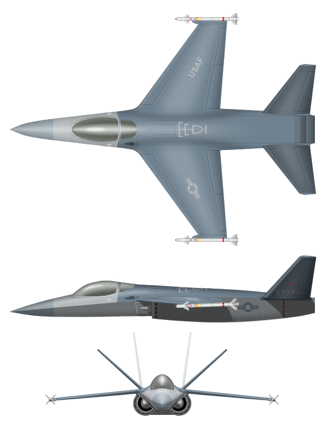 Lightweight Supercruise Jet by Kryptid