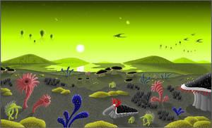 Alien World by Kryptid