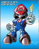 Revamped Mecha Mario by Kryptid
